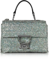 Coccinelle Arlettis Silver Glitter Mini Shoulder Bag