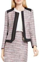Vince Camuto Color Block Tweed Jacket