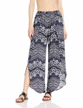 Seafolly Women's Bandana Print Wrap Pant