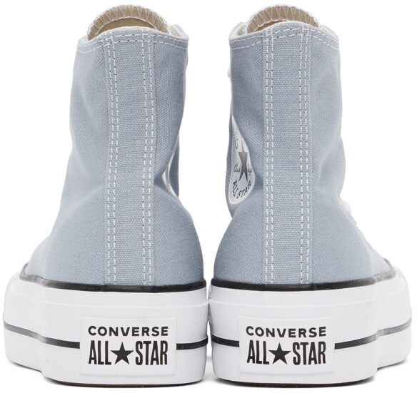 Thumbnail for your product : Converse Grey Chuck Taylor All Star Lift High Sneakers