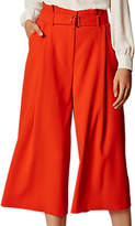 Karen Millen Paper Bag Culottes, Orange
