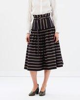 Lover Frame Midi Skirt