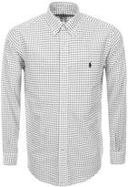 Ralph Lauren Windowpane Check Shirt White