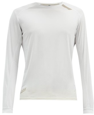Soar - Tech-t 2.0 Technical-mesh Running Top - Grey