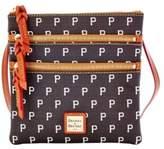 Dooney & Bourke MLB Pirates Triple Zip Crossbody Bag