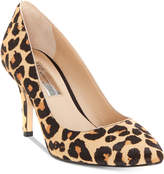 INC International Concepts I.n.c. Zitah Pointed-Toe Leopard Pumps, Created for Macy's Women's Shoes