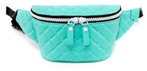 Like Dreams Quilted Polyurethane Belt Bag