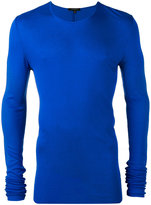 Unconditional ribbed long sleeve T-shirt - men - Rayon - XS