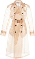 Maison Margiela Light Crinoline Trench Coat