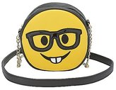 Charlotte Russe Nerdy Face Crossbody Bag