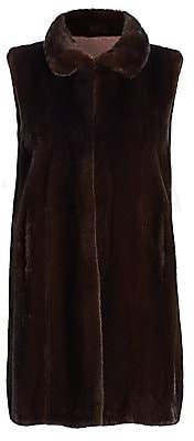 Zac Posen The Fur Salon Women's For The Fur Salon Mink Fur Vest