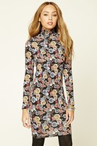 Forever 21 FOREVER 21+ Floral Print Bodycon Dress