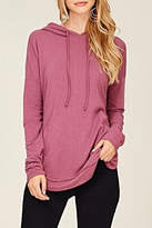 Staccato Drawstring Hooded Top