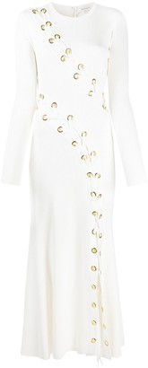 Alexander McQueen Lace-Up Detail Dress