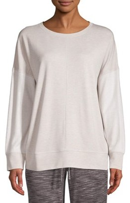 Secret Treasures Women's and Women's Plus Long Sleeve Sleep Top