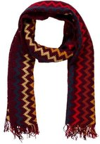 Missoni Chevron Striped Wool Scarf