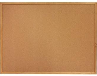 Lorell Lorell, LLR19768, Oak Wood Frame Cork Board, 1 Each