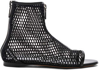 Givenchy Rivington Open Toe Sandals in Black   FWRD