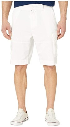 Polo Ralph Lauren Relaxed Fit Gellar Cargo Shorts (White) Men's Clothing