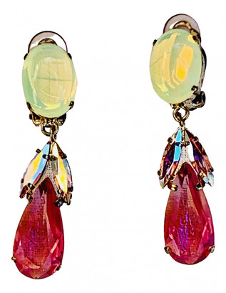 Philippe Ferrandis Gold Metal Earrings