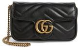 Gucci Supermini GG Marmont 2.0 Matelasse Leather Shoulder Bag