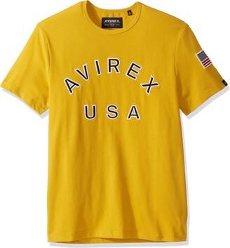 Avirex Men's AVF19BT03-DECK Yellow