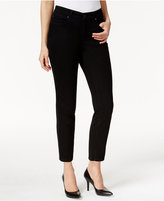 Charter Club Petite Saturated Wash Bristol Skinny Ankle Jeans, Only at Macy's