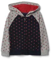 Gap Heart zip hoodie