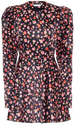 Rotate by Birger Christensen Pauline stretch-satin minidress