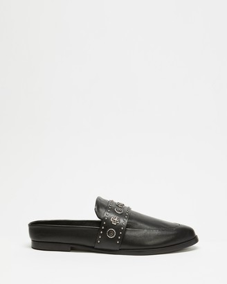 Sol Sana Women's Black Brogues & Loafers - Tuesday Slides - Size 37 at The Iconic