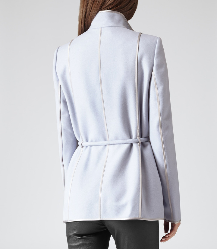 Reiss Warwick RELAXED BELTED COAT