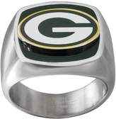 NFL Men's Stainless Steel Green Bay Packers Ring