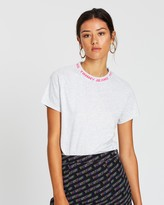 Tommy Jeans Branded Neck Tee