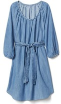 Gap Tencel® scoop neck dress