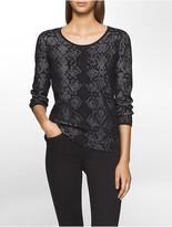 Calvin Klein Snake Sweater