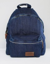 Eastpak Padded Pak R Kuroki Japanese Denim Indigo Wash Backpack
