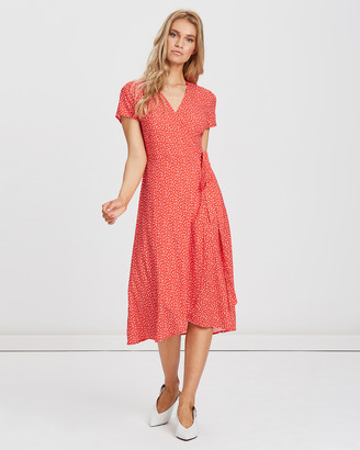 Charlie Holiday Penelope Wrap Dress