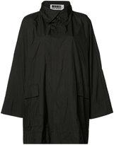 Issey Miyake classic short raincoat - women - Polyester - 2