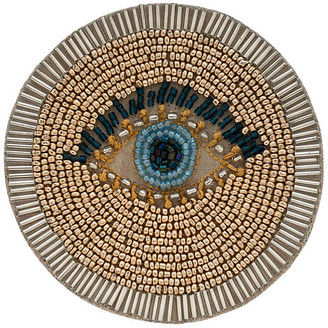 Joanna Buchanan Set of 4 Evil Eye Coasters - Gold