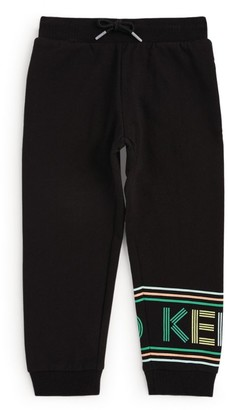 Kenzo Rainbow Logo Sweatpants