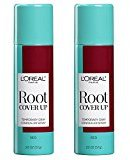 L'Oreal Hair Color Root Cover Up Hair Dye, Red, 2 Ounce (Pack of 2)