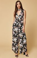Lucca Couture Mackenzie Sleeveless Choker Jumpsuit