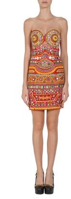 Moschino Sweetheart Neckline Dress