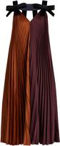 Roksanda Fahadi pleated crepe dress