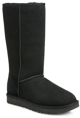 UGG Classic Tall II Shearling-Lined Suede Boots