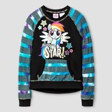 My Little Pony Girls' Pullover - Black