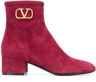 Valentino VLOGO Signature ankle boots