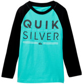 Quiksilver Fully Stacked Raglan Tee (Little Boys)