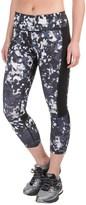 Layer 8 Printed Capri Leggings (For Women)