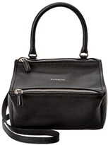 Givenchy Pandora Small Leather Messenger.